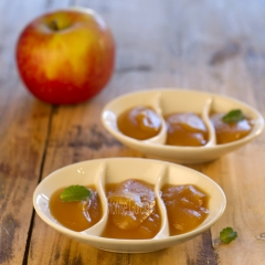 Compota de manzana water 2