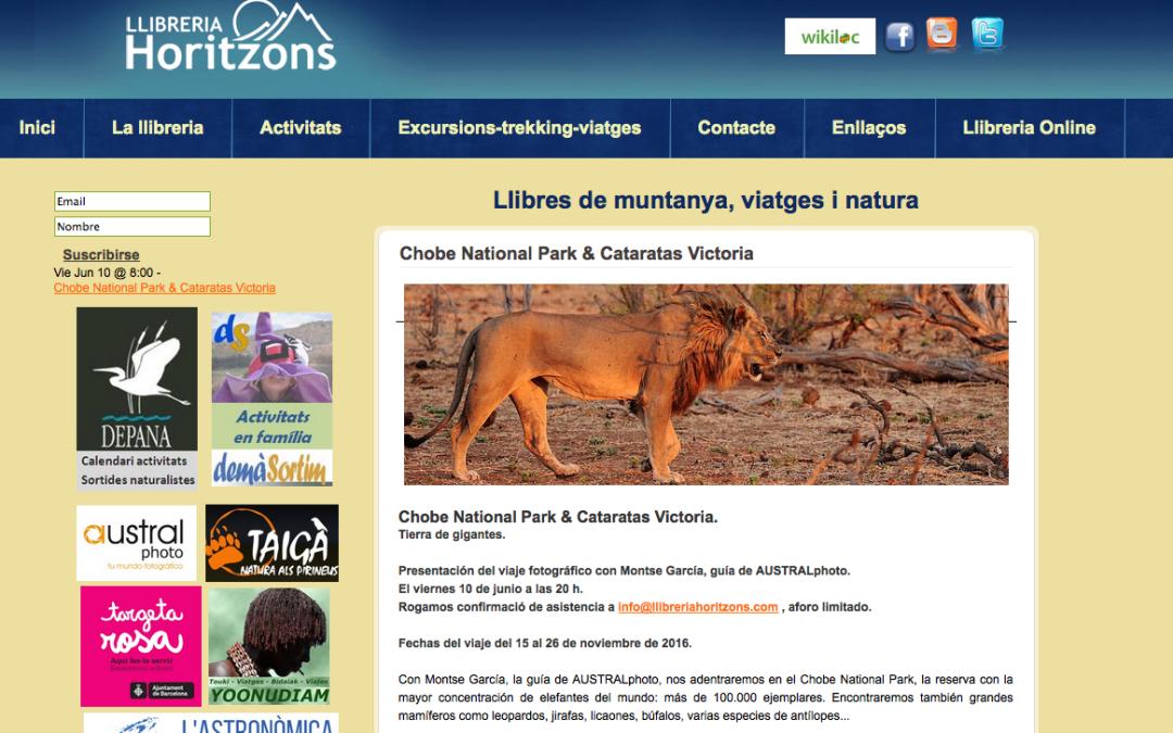 Presentación del Parque Nacional de Chobe