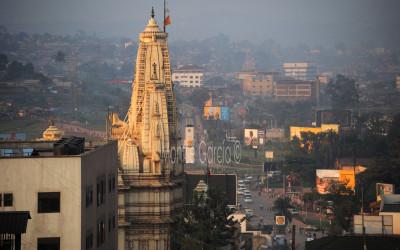 Sunrise in Kampala