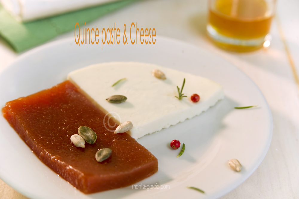 Quince paste with cheese