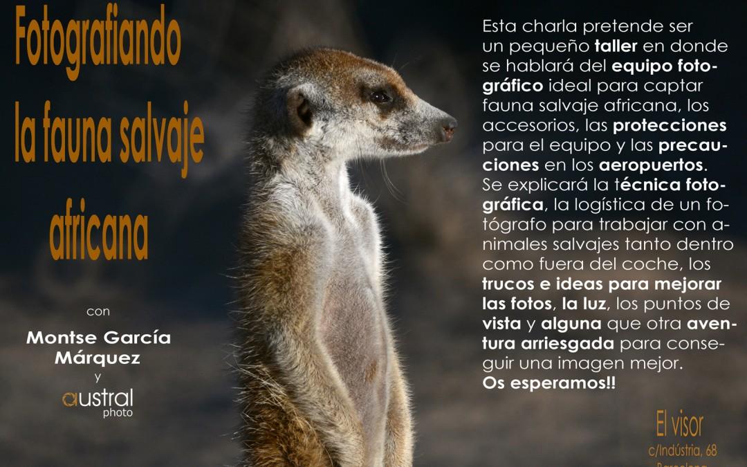 Conferencia: Fotografiando fauna salvaje africana