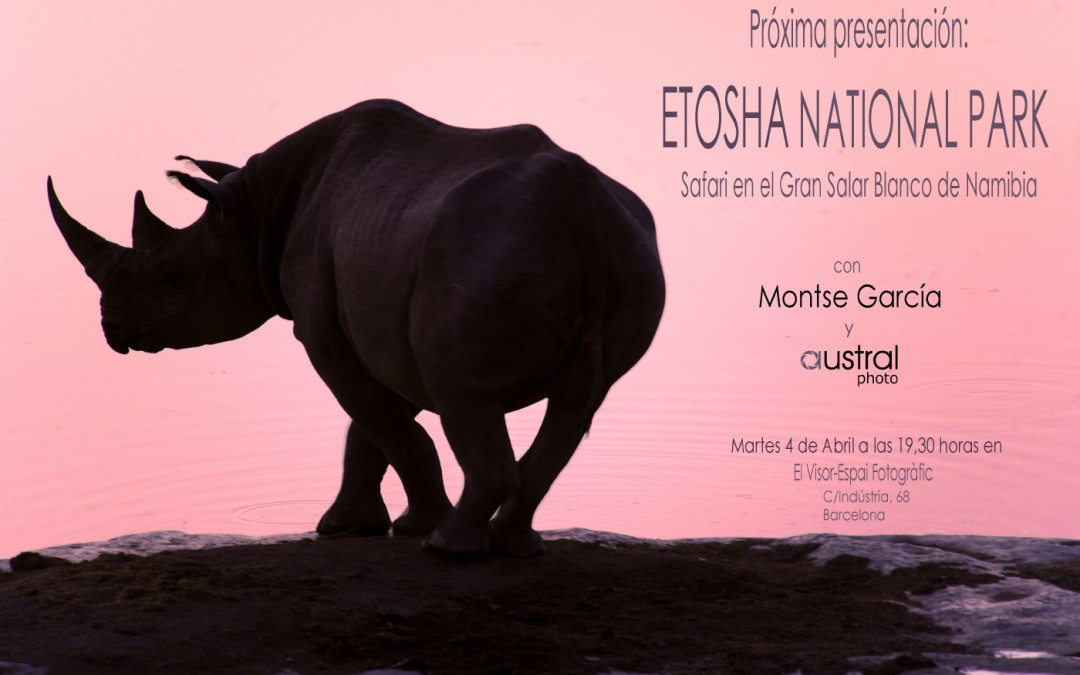 Presentación del Safari al Parque Nacional de Etosha