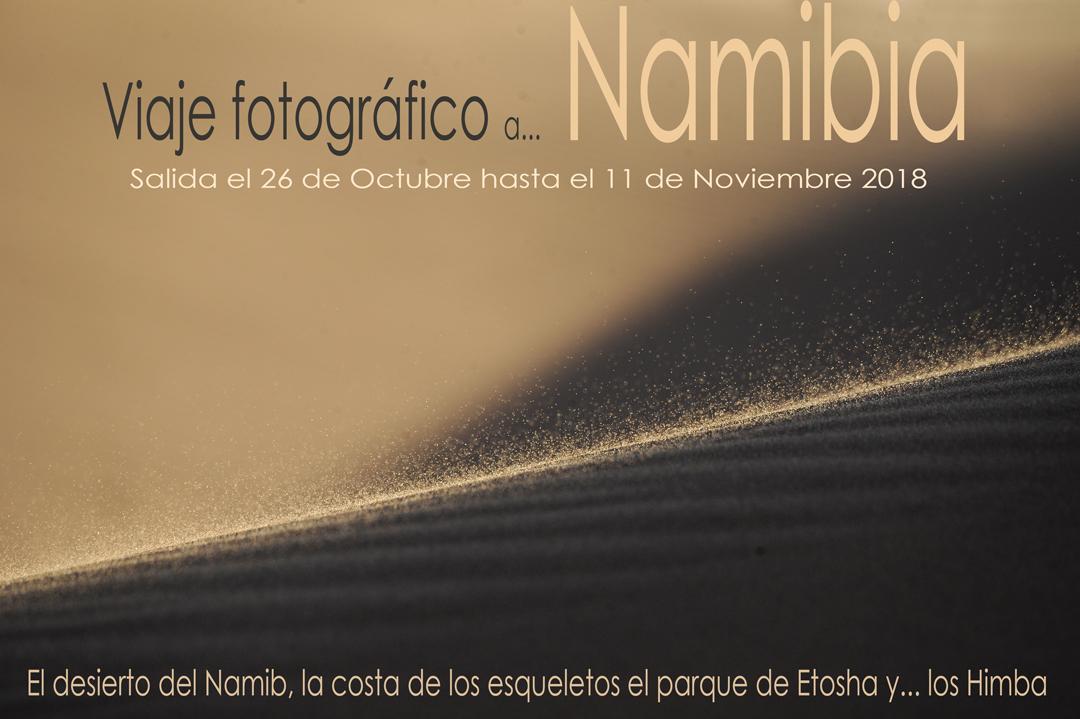 Presentación viaje por Namibia 2018