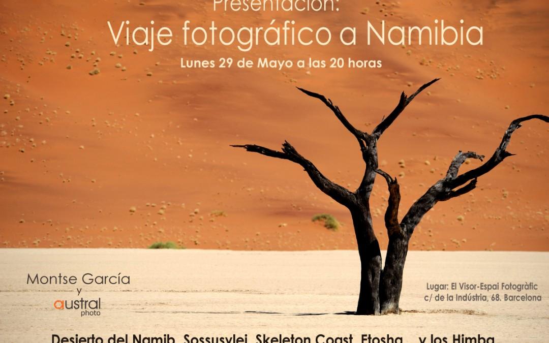 Presentación del viaje fotográfico a Namibia