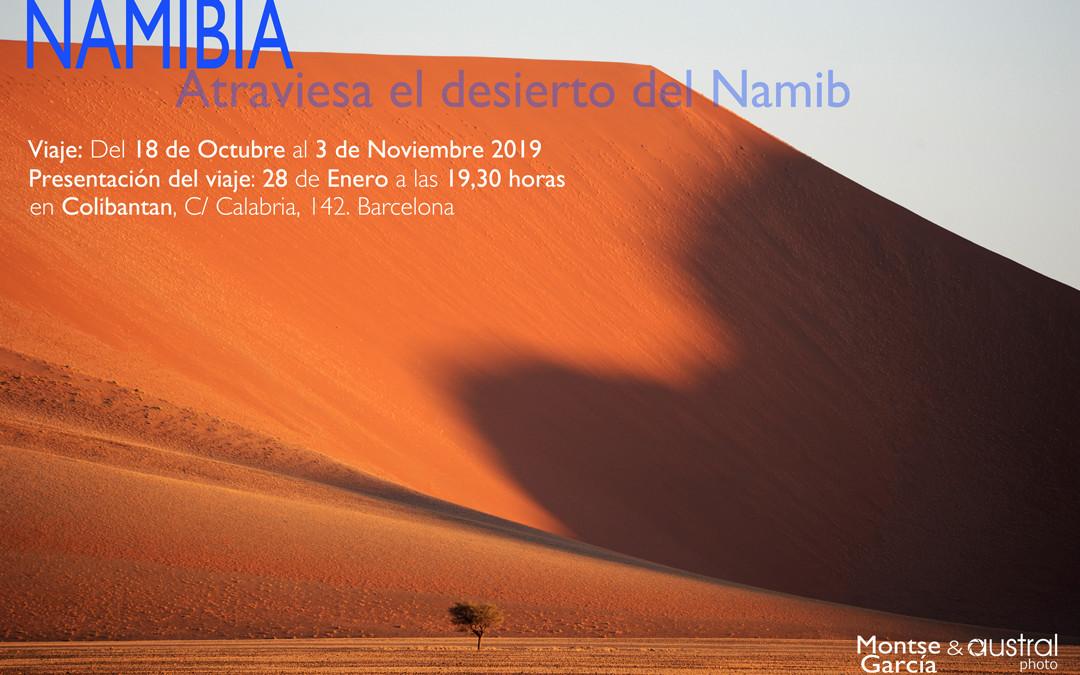 Viaje fotográfico a Namibia, presentación